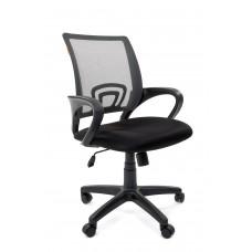 Кресло Chairman 696 сетка серая