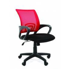 Кресло Chairman 696 сетка красная