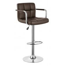 Барный стул BN-1013 темно-коричневый