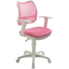 Кресло Бюрократ CH-797 сетка розовая