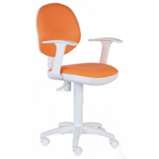 Кресло Бюрократ CH-W356 оранжевое