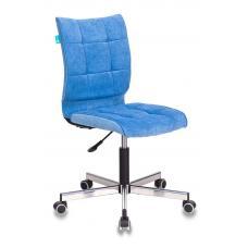 Компьютерное кресло Бюрократ СН-330М голубой вельвет