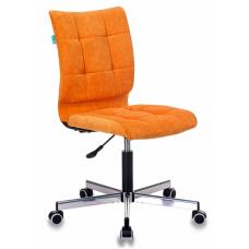 Компьютерное кресло Бюрократ СН-330М оранжевый вельвет