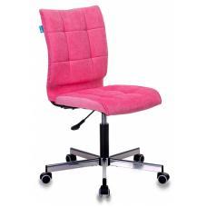 Компьютерное кресло Бюрократ СН-330М розовый вельвет