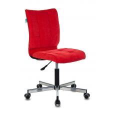 Компьютерное кресло Бюрократ СН-330М красный вельвет