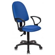 Кресло Бюрократ Престиж СН-1300 синее