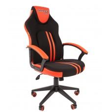 Кресло игровое Chairman Game 26 черный/красный