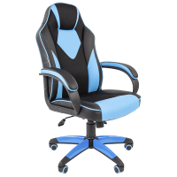 Кресло игровое Chairman Game 17 голубое