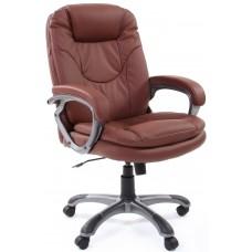 Кресло офисное Chairman 668 коричневое