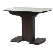 Стол Гала-20 венге/стекло песочное матовое
