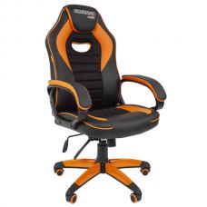 Кресло игровое Chairman Game 16 оранжевое