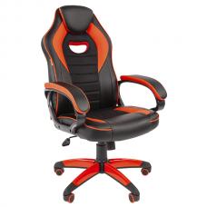 Кресло игровое Chairman Game 16 красное