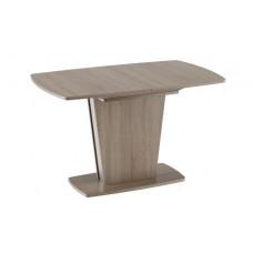 Стол обеденный Ливерпуль Тип 1дуб сонома трюфель/металлик