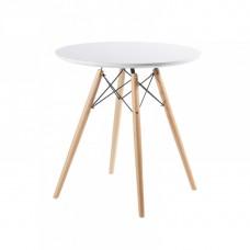 Стол обеденный ST-001 эмаль белая