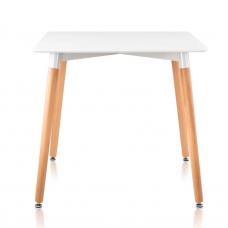 Стол обеденный ST-006 эмаль белая