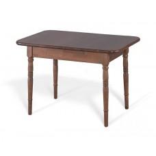 Стол обеденный Визави тон темный орех 70х105(155)