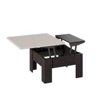 Стол трансформер тип 10 венге/дуб Белфорт