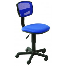 Кресло детское Бюрократ CH-299 синее