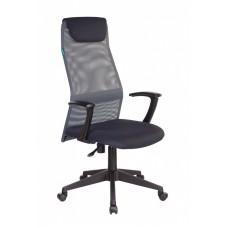 Кресло офисное Бюрократ КВ-8 серое