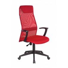 Кресло офисное Бюрократ КВ-8 красное